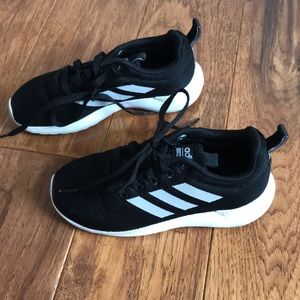 Adidas kid shoes sneakers size 12K.